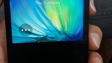 تصویر نصفه در گوشیa5