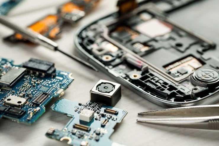 علت سوختن آی سی گوشی